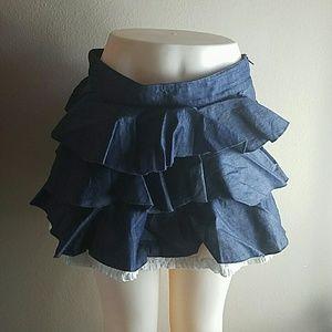 Dresses & Skirts - Stylebook denim skirt
