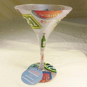 "Lolita I Love My Martini ""21"" Martini Glass"