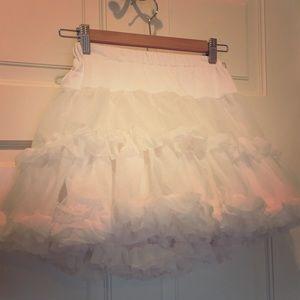 Tutu/ruffle skirt