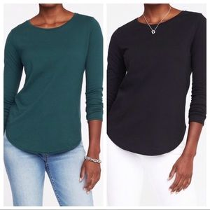 Two Relaxed Fit Long Sleeve Tees