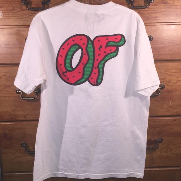 b2cecbeb Odd Future Donut T-Shirt Sz L w/ Albums. M_59b871c3f0137ddf1f0132d4