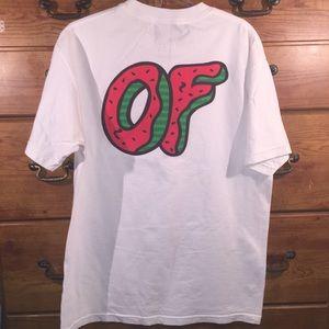 418036288bd07a Odd Future Shirts - Odd Future Donut T-Shirt Sz L w  Albums