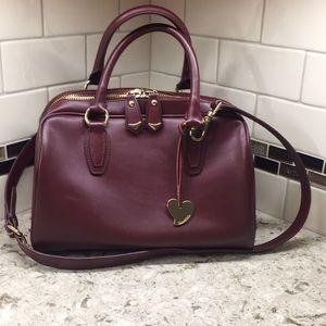 Cuore&Pelle Celeste satchel