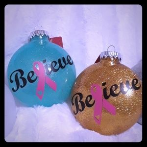 Other - Breast cancer awareness ornaments