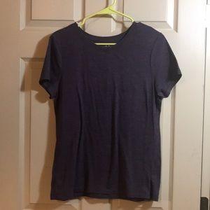 Purple soft t-shirt size Large