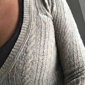 Abercrombie and Fitch V-neck sweater -Ladies small