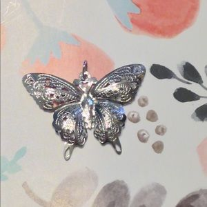 Jewelry - 50% off🕊Sterling Silver Butterfly Pendant🦋