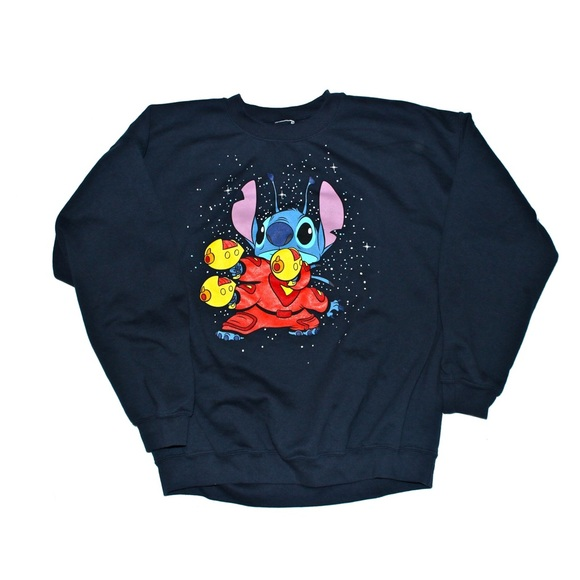 7a83df50f584 Disney Stitch Vintage Sweater Size XL Pullover
