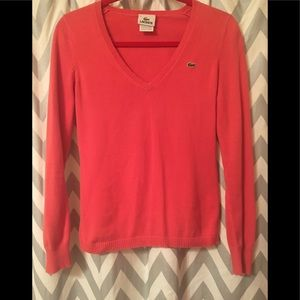 Lacoste V-Neck Sweater