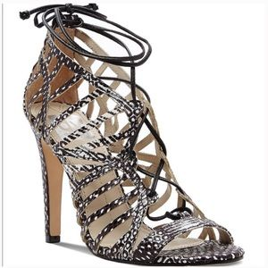 Dolce Vita Caged Ghillie Lace Up Heel