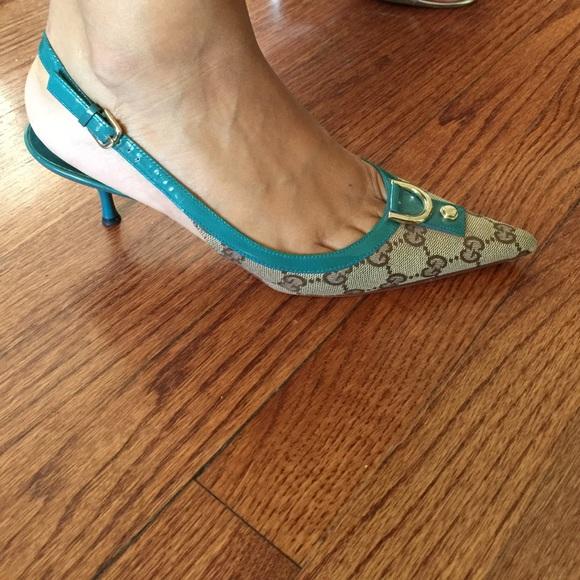Gucci Shoes - Vintage Gucci Slingbacks