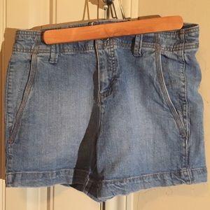 💜 High Waisted Faded Glory Jeans Size 4 Blue
