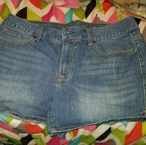 Size 14 faded glory shorts