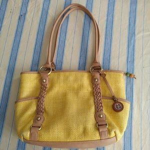 Giani Bermnini Yellow Women's shoulder bag