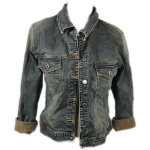Slver Blue Denim Jacket by silver jeans size large