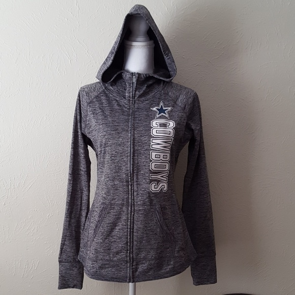 new concept 7ced6 aa3a5 Dallas Cowboys Zip-up Hoodie