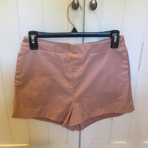 Super Flattering Faux Leather Shorts
