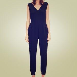 Madewell black jumpsuit size medium