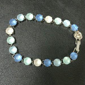 Jewelry - Darling bracelet in shades of blue