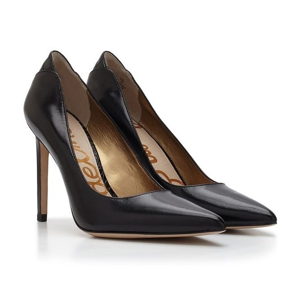 38df9b75e965cc Sam Edelman Dea Black Heels