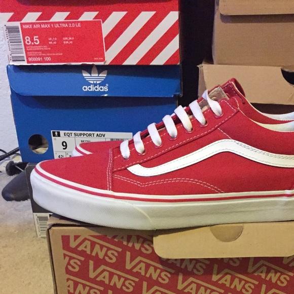 Vans Shoes   Vans Old Skool Formula Red