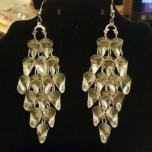 Jewelry - Clear Chandelier Earrings