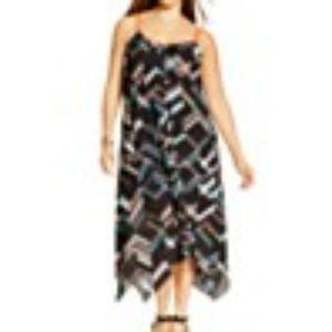 NY Collection Handkerchief-Hem dress