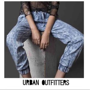 Urban Outfitters Sparkle + Fade Acid Wash Joggers
