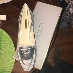 Final! Louise et Cie Bitsy Embossed Penny Loafers