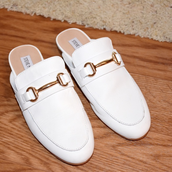 a58ce93a920 Steve Madden Kandi White Leather shoes