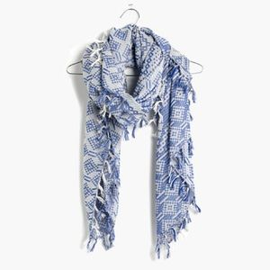 Madewell Oversized Gridweave Scarf