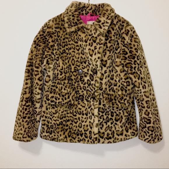 58c4b1dd6124 Jackets & Coats | Vintage 90s Faux Fur Leopard Print Peacoat Jacket ...
