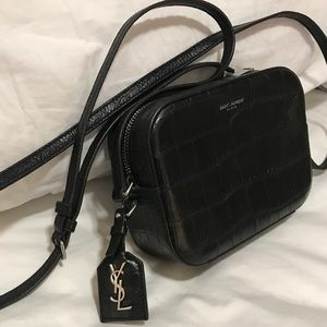 0b18e4bc6792 Yves Saint Laurent Bags - YSL Crocodile Crossbody Camera bag