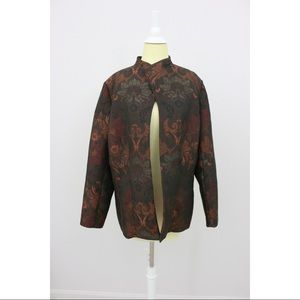 Coldwater Creek Brocade Jacket