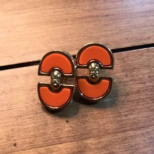 Authentic Gold Tory Burch earrings