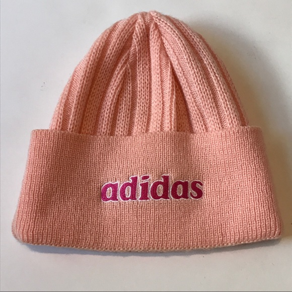 9afde45ea99 adidas Accessories - Adidas Womens Acrylic Knitted Beanie Hat Pink