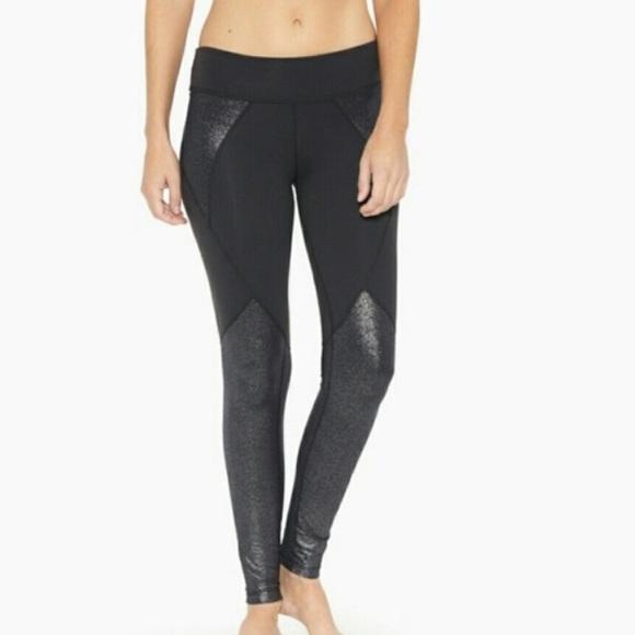 74c8b2e8e9a6f Beyond Yoga Pants - Beyond Yoga glitter panel legging