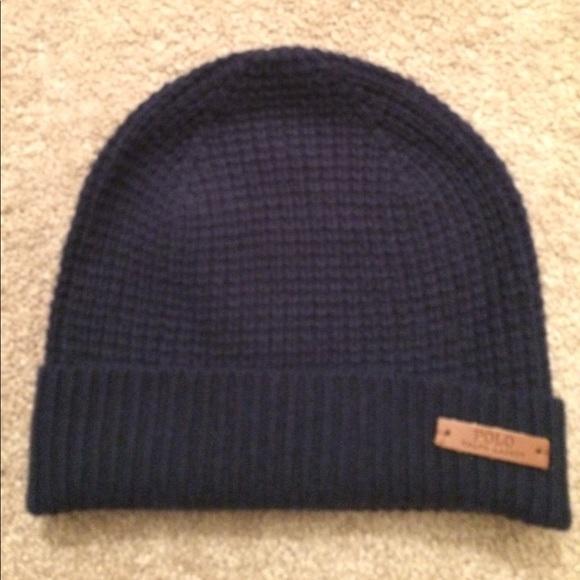 Polo Ralph Lauren Beanie 70% Wool 30%cashmere NWT 64c2f980f6cb
