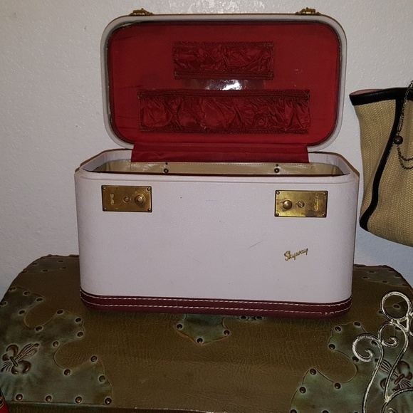ece10bad6 Vintage Skyway Bags | Travel In Style Carryon Trunk | Poshmark