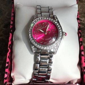 NIB Betsey Johnson Crystal watch