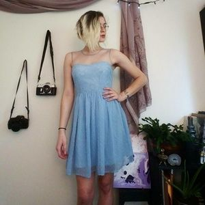 "Powder Blue ""Alice"" Dress"