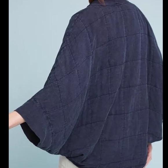 23% off Anthropologie Jackets & Blazers - Anthro Saturday Sunday ... : quilted kimono jacket - Adamdwight.com