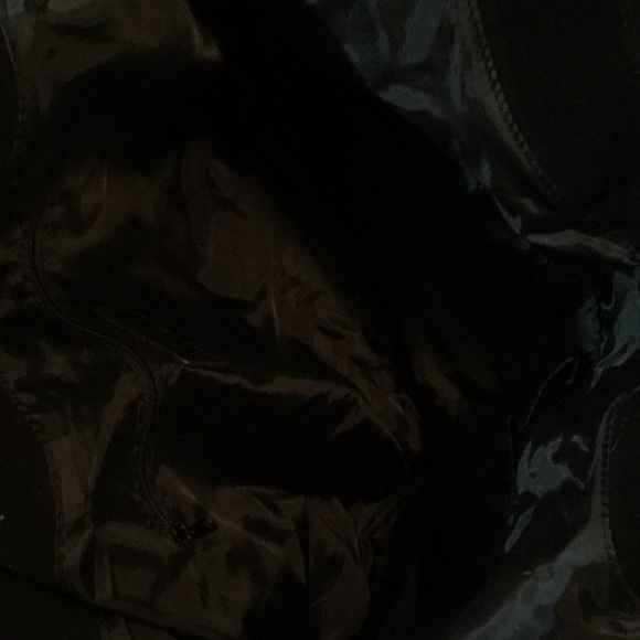 journeys Bags - Studded Black Hobo Bag