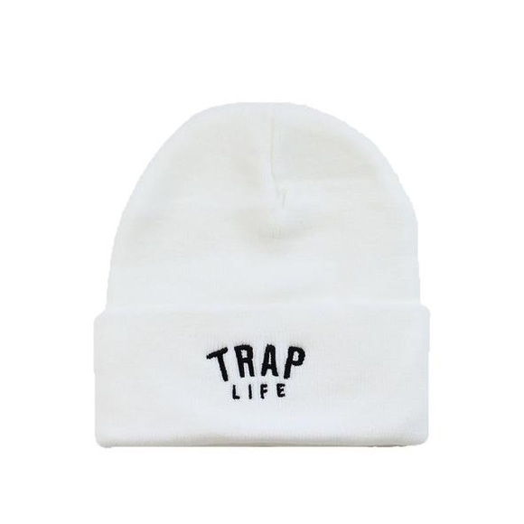 SuperlineATL Accessories - Trap Life Beanie - White