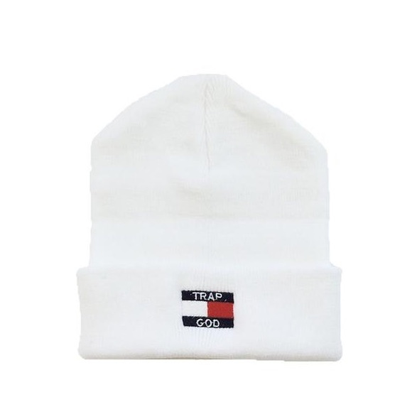 SuperlineATL Accessories - Trap God Beanie - White