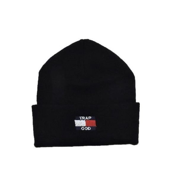 SuperlineATL Accessories - 🚫Sold🚫Trap God Beanie - Black