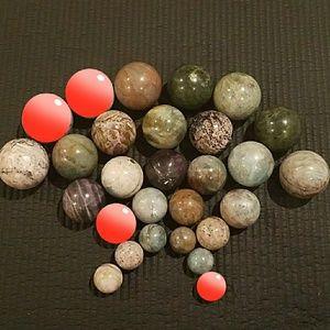 Other - Crystal balls! AssortedGemstone balls/spheres (24)