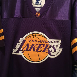a6c1c1a4c STARTER Other - LA Lakers Football Jersey by STARTER -NBA Licensed
