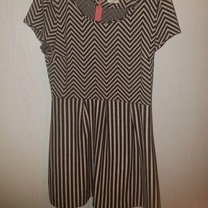 Madison Jules striped dress