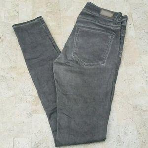 ZARA Woman Gray Skinny Jeans